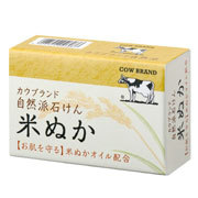 Natural Soap Rice Bran / COW BRAND
