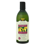 YLANG YLANG Bath & Shower Gel / Avalon Organics