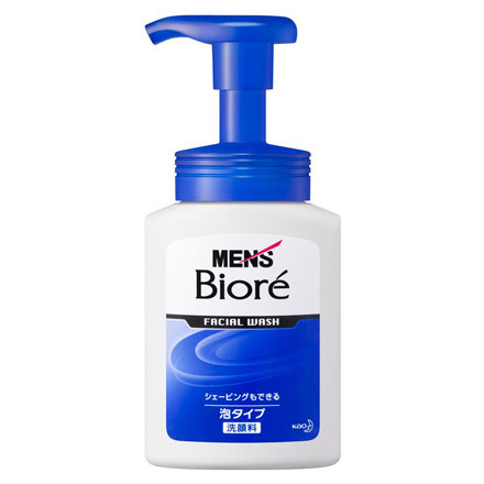 Men's Biore / Instant Foaming Face Wash - @cosme