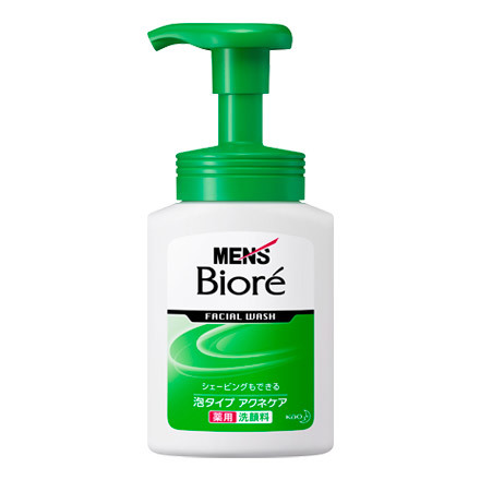Men's Biore / Instant Foaming Facial Wash Acne Care - @cosme