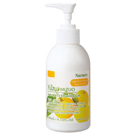 Makeup & UV Cleansing Gel Yuzu Mizuo / Nursery