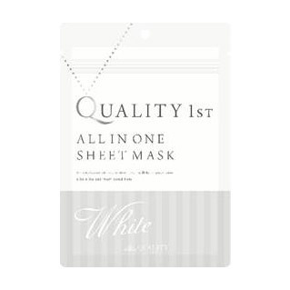 All-in-One Sheet Mask White / Quality First