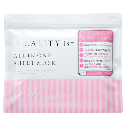 All IN ONE SHEET MASK MOIST / QUALITY FIRST