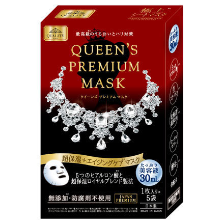 QUEEN'S PREMIUM MASK Ultra-Moisture +  Aging Care Mask