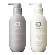 Scalp D Beaute Moist Shampoo / Moist Treatment Pack / ANGFA