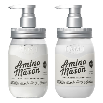 Amino Mason Moist Whip Cream Shampoo/Treatment / Stella Seed