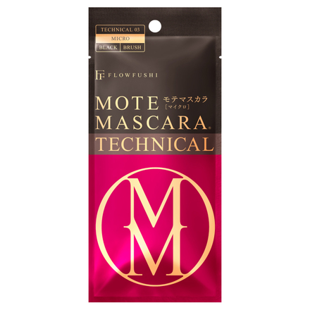 MOTE MASCARA TECHNICAL 3 / FLOW FUSHI
