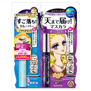 Volume and curl mascara & Speedy mascara remover L17 / Kiss Me Heroine Make