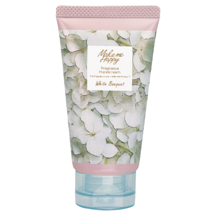 Make me Happy Fragrance Hand Cream (White Bouquet) / CANMAKE
