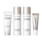 ELIXIR WHITE Tsuya Tama Trial Set (Brightening & Aging Care) / ELIXIR