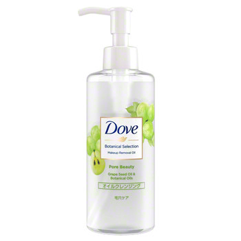 Botanical Selection Pore Beauty Makeup Removing Oil / Dove