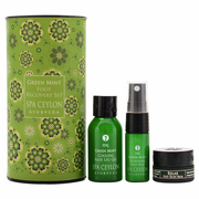 GREEN MINT FOOT RECOVERY SET