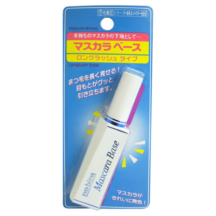 Ever Bilena Mascara Base Long (Blue) / THE DAISO