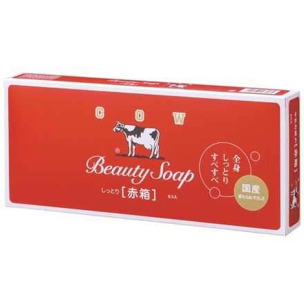 Beauty Soap Red Box (Moisturizing) / COW BRAND