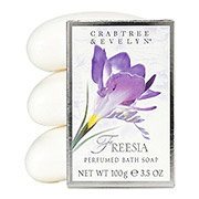 Freesia Perfumed Bath Soap / Crabtree&Evelyn
