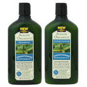 PEPPERMINT Strengthening Shampoo / Avalon Organics