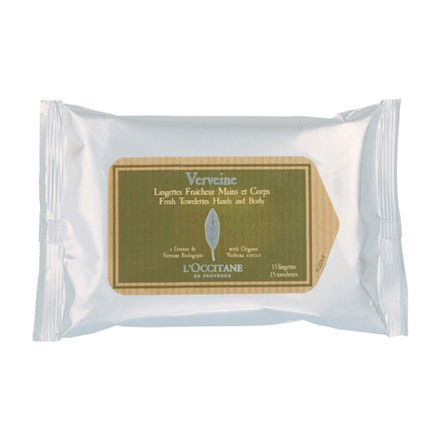 Verbena Refreshing Towelettes / L'OCCITANE