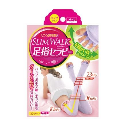 34b5c9c7592fd Slim Walk / Slim Walk Toe Therapy Home Relax Socks (Long) - @cosme