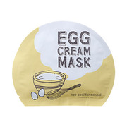 Egg Cream Mask Set / too cool for school