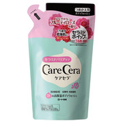 Foaming Highly Moisturizing Body Wash Fruity Rose Fragrance / CareCera
