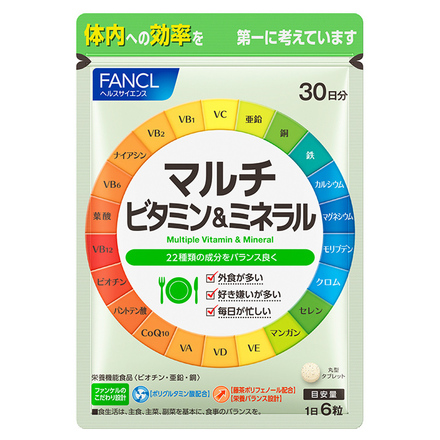 Multi-Vitamin & Minerals / FANCL