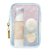 Mat Chiffon Whitening Base N Limited Edition Makeup Bag Set 18 / kiss