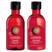 Strawberry Clearly Glossing Shampoo / Conditioner / THE BODY SHOP
