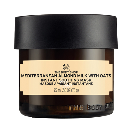 Mediterranean Almond Milk with Oats Instant Soothing Mask / THE BODY SHOP