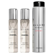 ALLURE HOMME SPORT Cologne Refillable Travel Spray / CHANEL