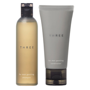 For Men Gentling Shampoo & Conditioner Mini Set / THREE