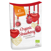 Organic Strawberry in Double Chocolate
