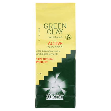Green Clay Sifted Activ (Body) / ARGITAL